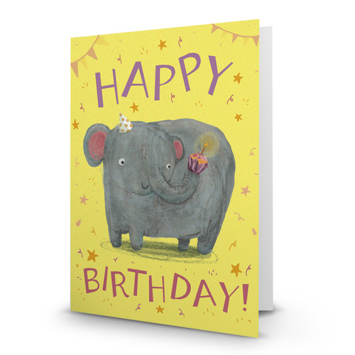Birthday Elephant - AA100