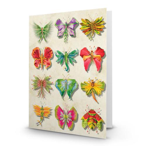 Flower Butterflies 04 - MT100