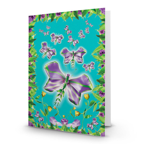 Purple Butterflies - MT100