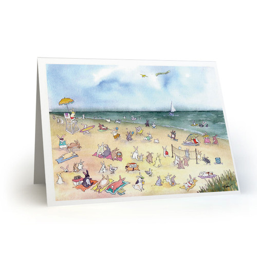 Beach Blanket Bunnies  - MT100