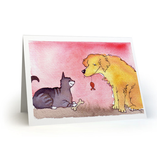 Cat and Dog Friendship  - MT100
