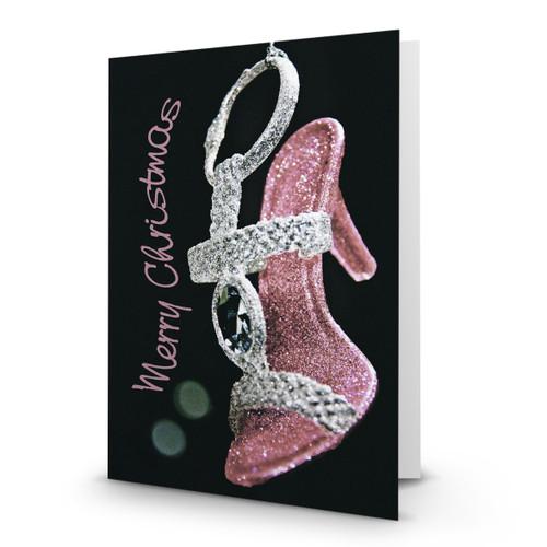 Pink Sparkling Shoe - HP100