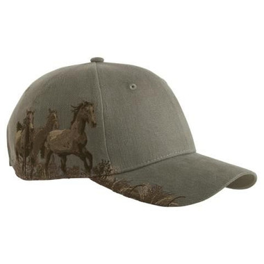 Wild Mustangs Embroidered Cap