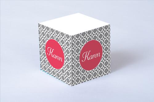 Seashell Sticky Note Cube