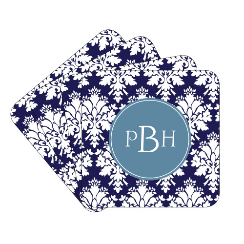 Damask Coaster Set