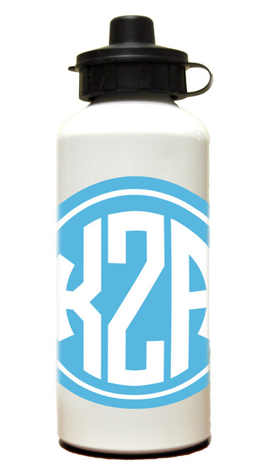 Monogram Solid Circle Water Bottle