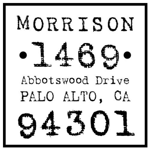 Morrison Self Inking Stamp