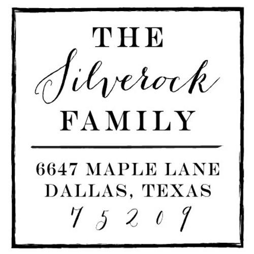 Silverock Inking Stamp