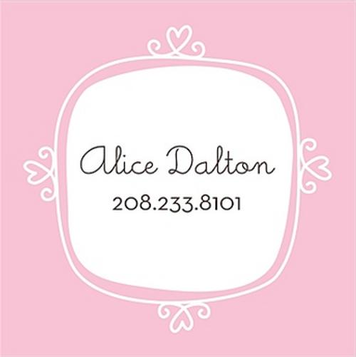 Le Cute Pink Sticker