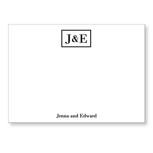 Jenna and Edward Flat Note