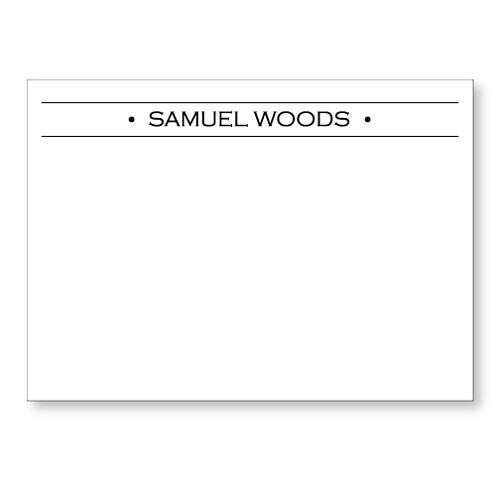 Samuel Flat Note