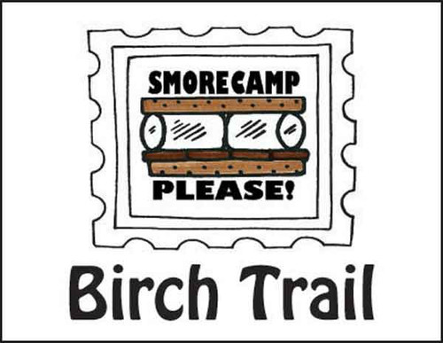 Smore Camp Folded Note