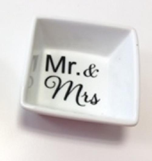 Square Ceramic Ring Dish