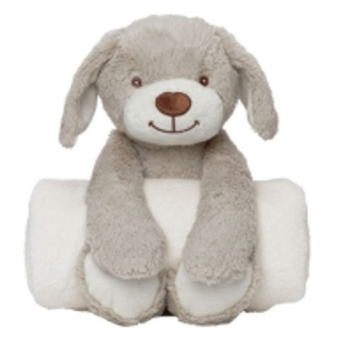 Huggy Puppy and Blanket Set