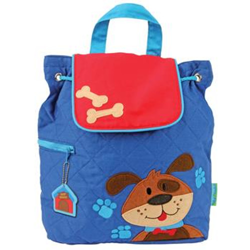 Puppy Quilted Backpack