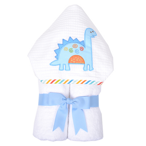Dino Dude Hooded Towel