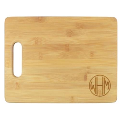 Henley Monogram Cutting Board