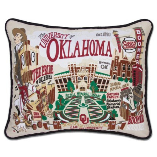 University of Oklahoma Pillow