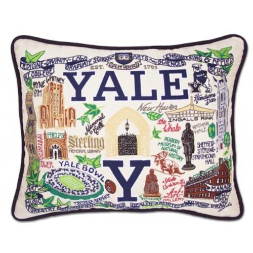 Yale University Pillow