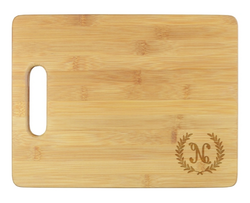 Harvest Initial Cutting Board