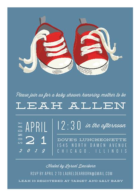 Sneakers Invitation
