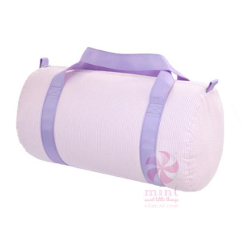 Princess Seersucker Duffel Bag