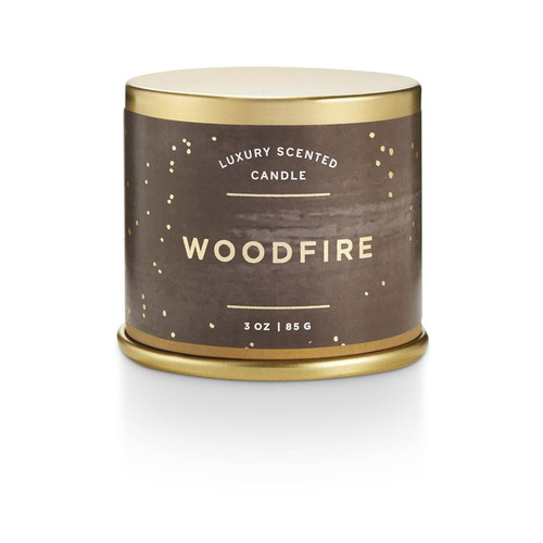 Woodfire Small Tin