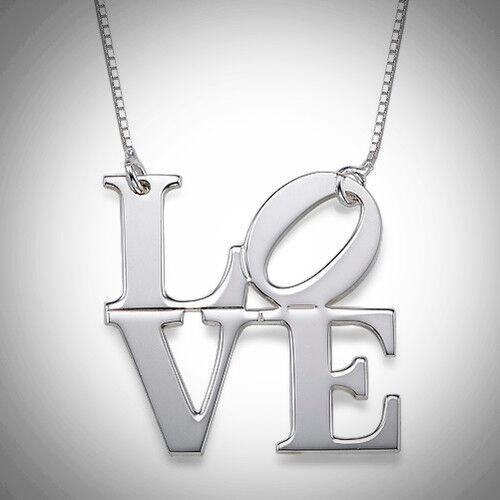 Capital Love Necklace