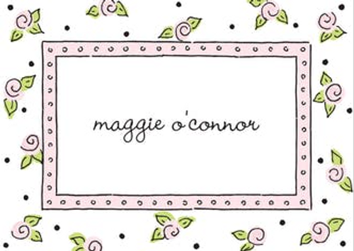Sweet Roses Pink Gift Sticker