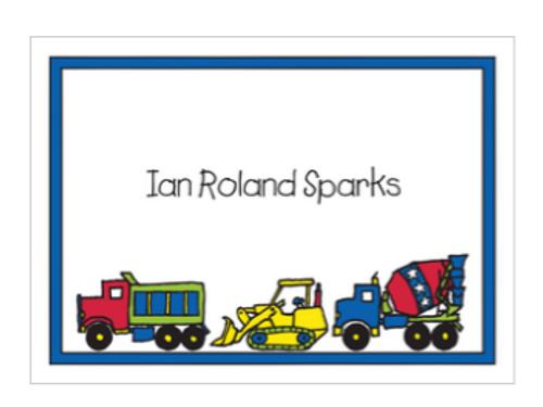 Construction Gift Sticker