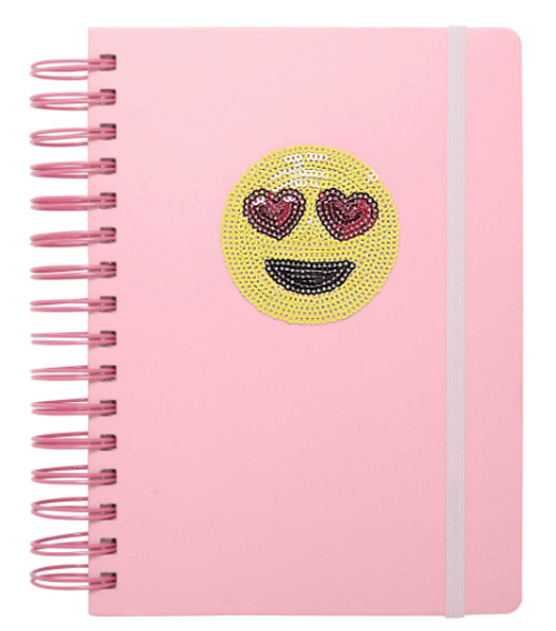 3-in-1 emoji notebook