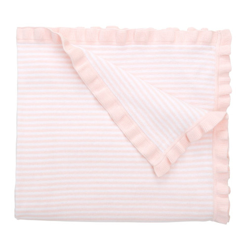 Pink Striped Blanket
