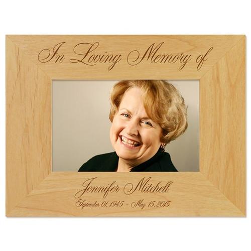 In Loving Memory Picture Frame