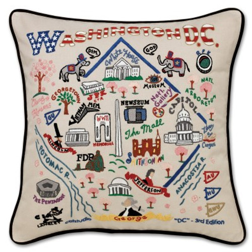 Washington, DC Pillow