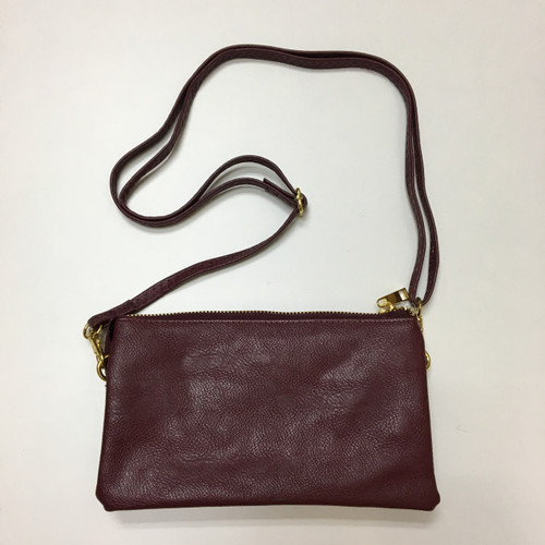 Burgundy Clutch/Crossbody