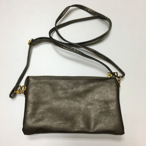 Pewter Clutch/Crossbody