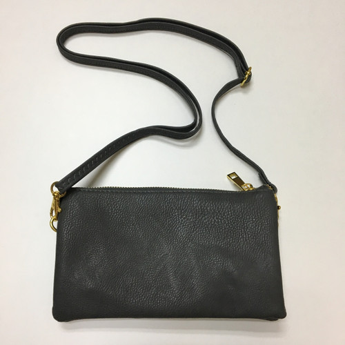 Gray Clutch/Crossbody