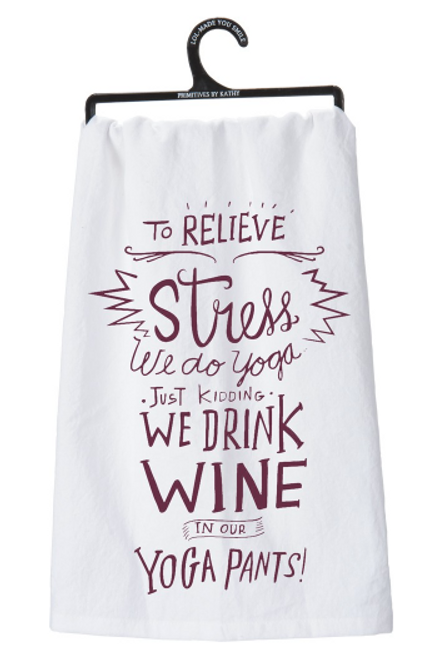 Relieve Stress Dish Towel