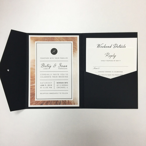 Betsy and Sean: Wedding Invitation