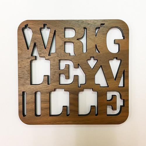 Wrigleyville Wooden Coaster Set