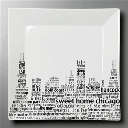 Square Chicago Platter