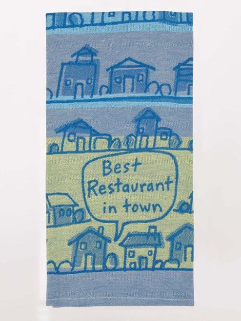 Best Restaurant In Town Dish Towel