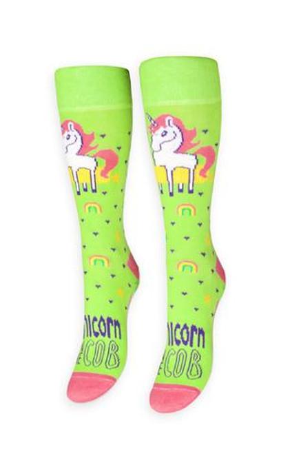 Unicorn On The Cob Socks