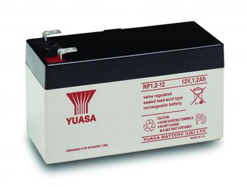 Yuasa NP1.2-12 12Volt 1.2AH Rechargeable Battery