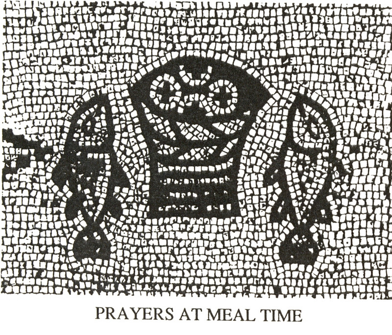 PRAYERS AT MEAL TIME