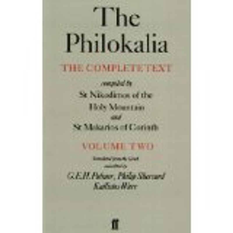 THE PHILOKALIA, V2