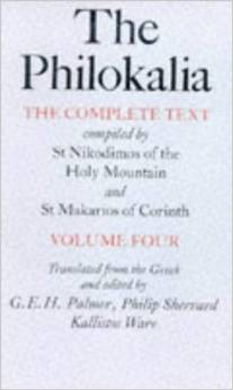 THE PHILOKALIA, V4 PAPERBACK