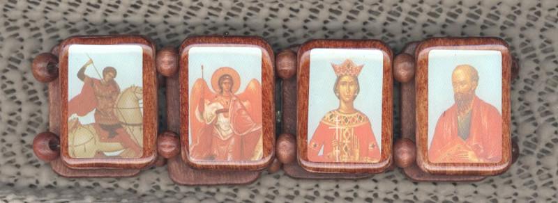 ICON BRACELETS: Orthodox Saints (LARGE)