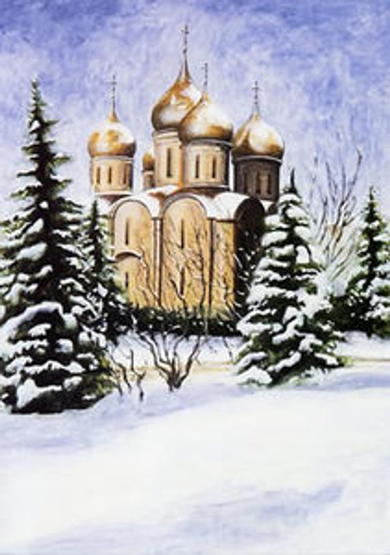 Dormition Cathedral 1475-1479, The Kremlin, Moscow, Russia