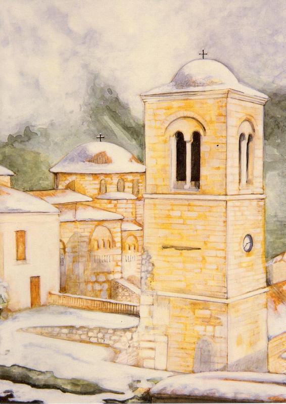 Hosios Loukas Monastery, early 11th century. Hosios Loukas, Boeotia, Greece